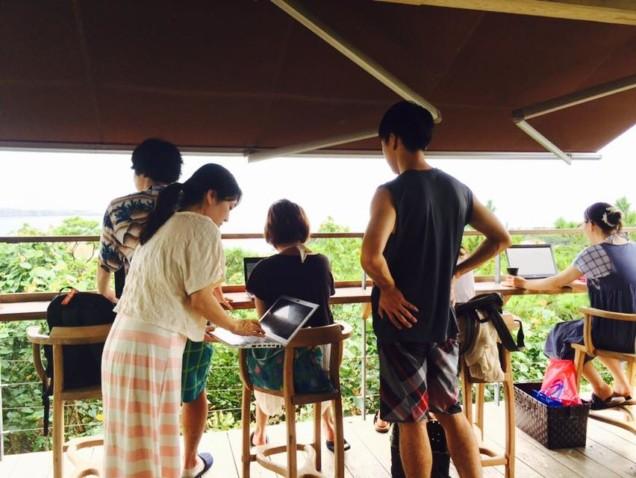 沖縄合宿 webマーケティング