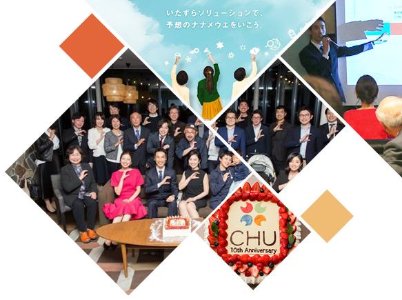 株式会社CHU2019年のご挨拶、昨年の振り返り